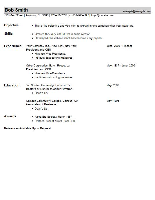 resume example 23